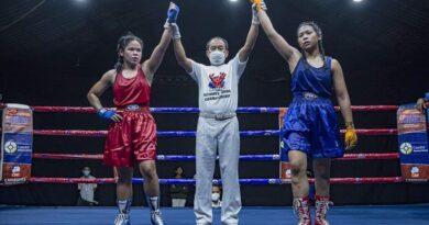 ជម្រើសជាតិ ទូច ដេវីត យកឈ្នះគូប្រជែង ខុន ឌីណា Ultimate Boxing Championship 2021